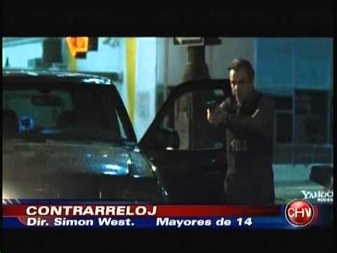 CONTRA RELOJ ESTRENO EN CHILE CON NICOLAS CAGE CHVNOTICIAS CENTRAL 18 10 2013)