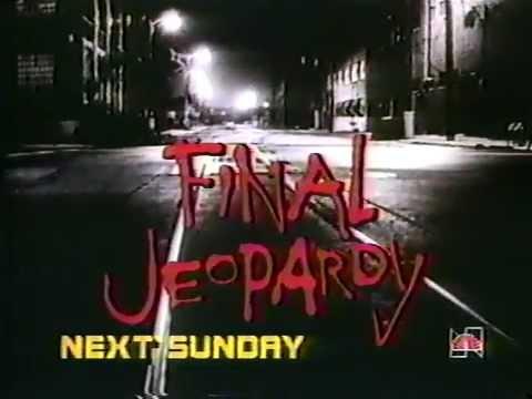 NBC Final Jeopardy 1985 TV