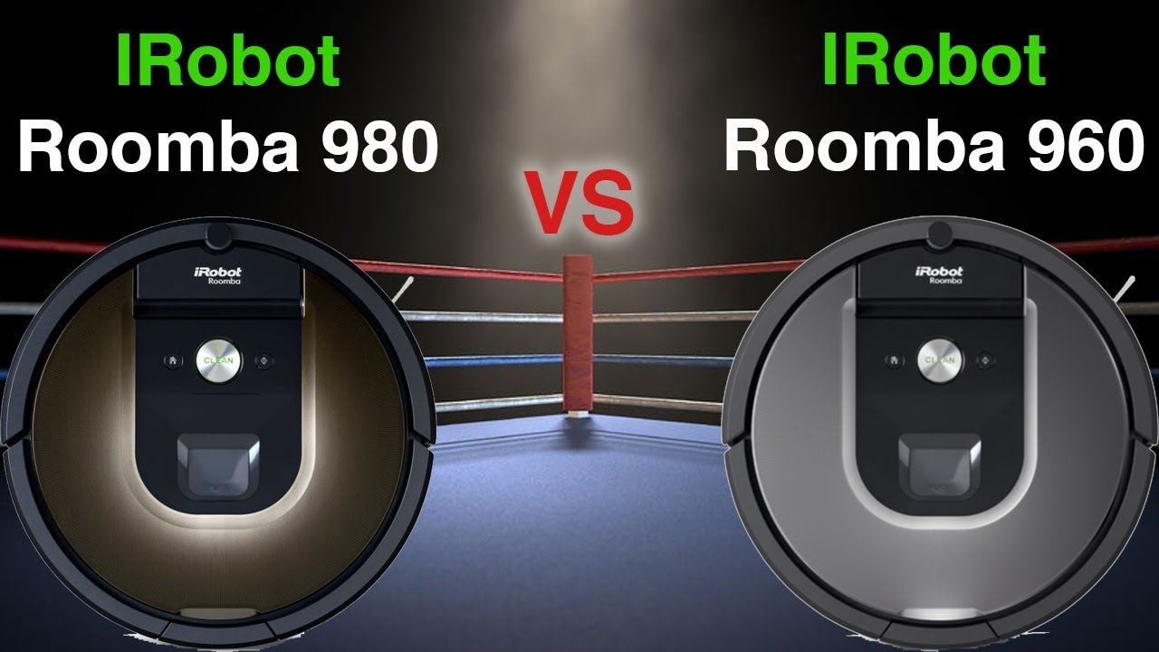 מפוארת Roomba 980 VS Roomba 960 From IRobot - Detailed Comparison - YouTube IF-71