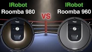 Roomba 980 VS Roomba 960 From IRobot - Detailed Comparison