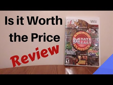 Data East Arcade Classics  Wii Review by Second Opinion Games