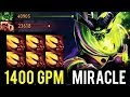 WTF IS THIS 1400 GPM 30 Min Full Items Crazy Pugna by Miracle Biggest Comeback 7.13 Meta Dota 2