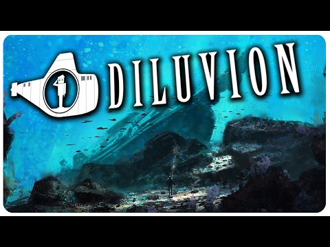 Deep Sea Steampunk Submarine Exploration! - Diluvion Gameplay | Let's Play Part 1