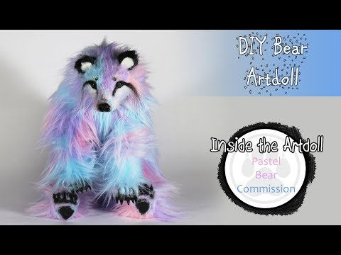 Pastel Bear Commission - Art Doll Tutorial