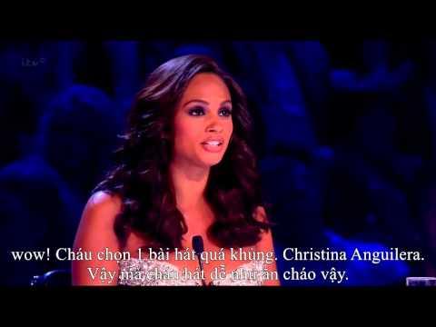 (Vietsub) Vòng thì chung kết BGT của cô bé 11 tuổi với The voice within Christina Anguilera
