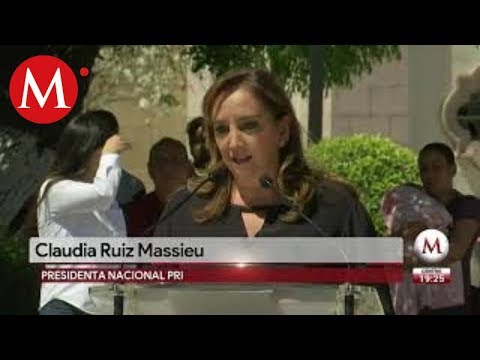 """La justicia ya hizo su trabajo"": Caludia Ruiz Massieu"