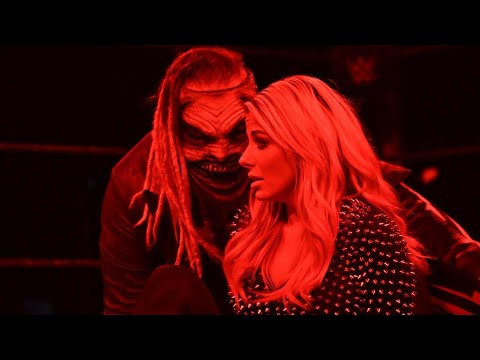 THE FIEND ATTACKS ALEXA BLISS ON SMACKDOWN!