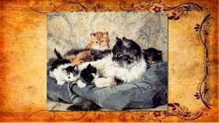 Художник Henriette Ronner Knip.  Картины с кошками