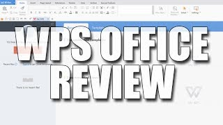 Windows 10 WPS Office FREE Microsoft Office Alternative | The perfect free office software