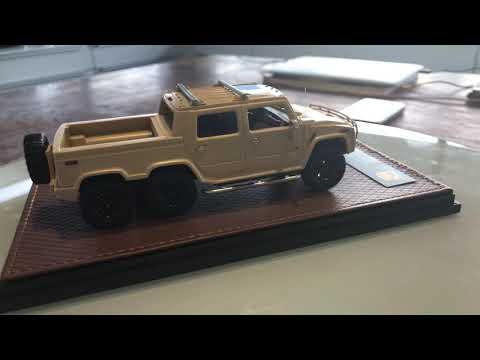 Hummer H2 SUT 6 2012 1/43 review