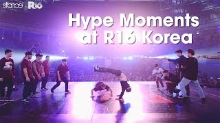 hype moments at r16 korea