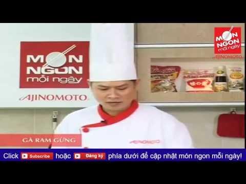 Món ngon mỗi ngày: Cách làm thịt gà ram gừng ngon