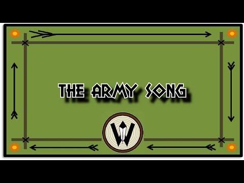 The Army Song - Campfire Karaoke