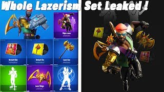 Fortnite New Leaked Major Lazer Skin Lazer Blast & Lazer Flex Emotes Default Dance Remix Music Pack