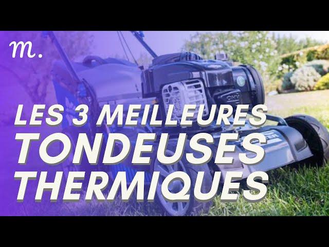 🥇TOP 3 TONDEUSES THERMIQUES (2020)