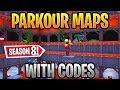 Best Parkour Maps Fortnite Codes