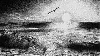 КАК нарисовать Морской Пейзаж карандашом. Оригинальный метод(Полный курс