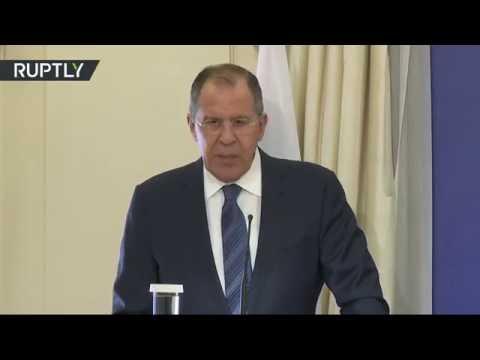 Пресс-конференция Лаврова и главы МИД Греции по итогам переговоров