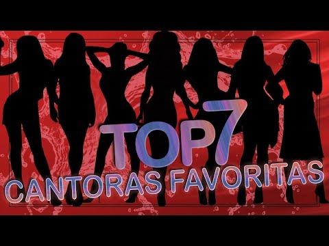 Top 7 - Cantoras Favoritas