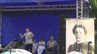 Александр Филипенко на 45-м Блоковском празднике поэзии 3.08.14
