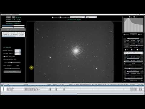 Learning your way around APP (Astro Pixel Processor)