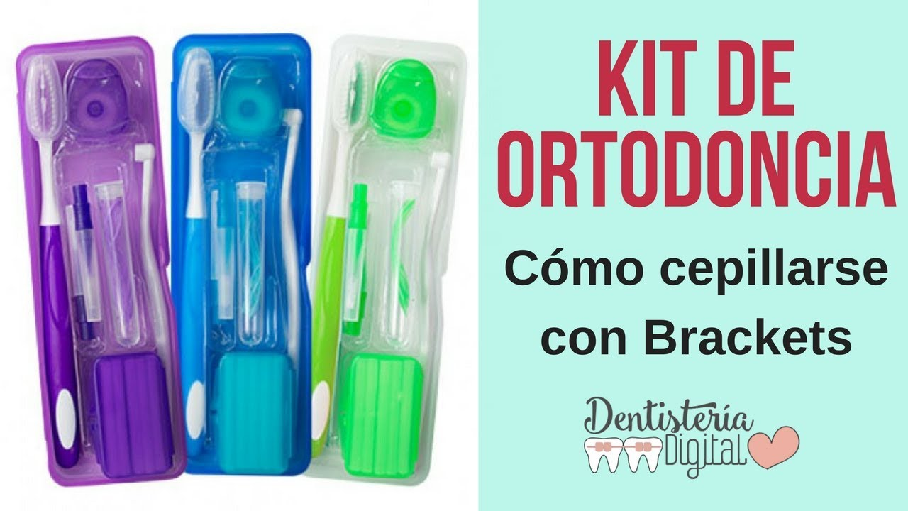 Kit de Ortodoncia y Cómo cepillarse los dientes con Brackets - YouTube c946f2f95217