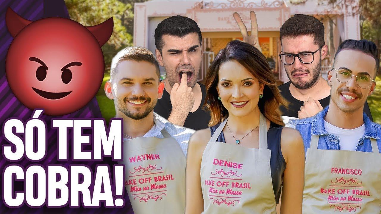 Analisando Os Participantes Da 5ª Temporada Do Bake Off Brasil