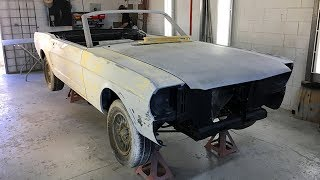 1966 Ford Mustang Convertible 347 Windsor Restoration Project