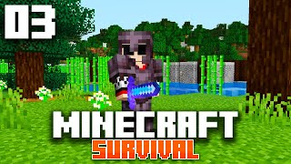 Minecraft 1.16 Survival Let's Play | Full Netherite Armor! | Ep 3