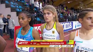 Indoor Meeting Madrid 2018 - Konstanze Klosterhalfen