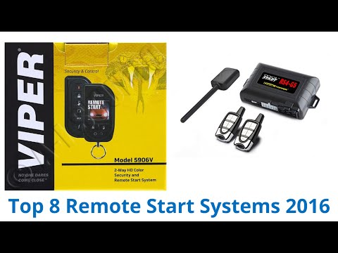 8 Best Remote Start Systems 2016