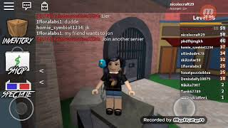 ROBLOX-I'm going to play catch??? (Murder Mystery 2)