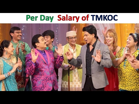 Per Day Salary of Taarak Mehta Ka Ooltah Chashmah Actors .wi