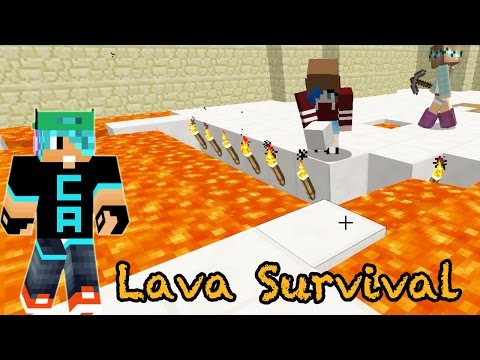 Minecraft  Lava Survival  Get out of my hidey hole!  Radiojh Games
