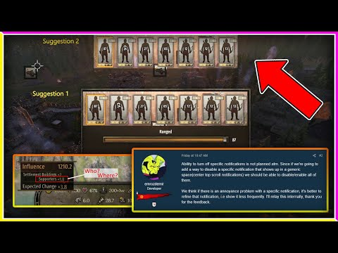 Devs Respond to Change Suggestions & More - Mount & Blade II: Bannerlord |