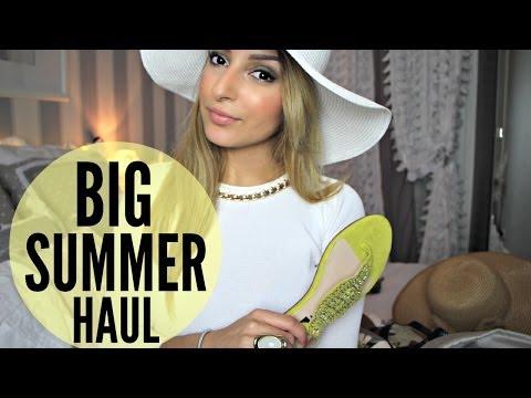 Big Fashion Haul Été ✹ H&M, Zara, New Look, Mango ...