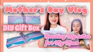 """""""Mother's Day Vlog + How I made my Mother's day Gift"""" 