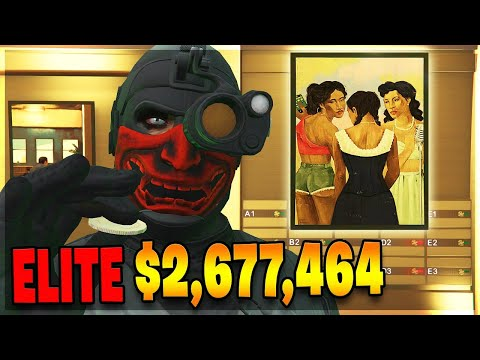 the-fastest-$2,677,464-elite-painting-heist-on-gta-5-online!-(100%-payout-silent-&-sneaky)
