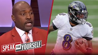 Marcellus Wiley explains why Lamar Jackson is worth $40M a year | NFL | SPEAK FOR YOURSELF
