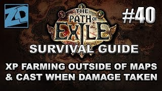 The Path of Exile Survival Guide #40: Where to Level Outside of Maps & CwDT Setups