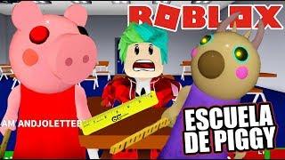 Piggy me Atrapa en la Escuela   Peppa EXE en Escuela   Juegos Karim Juega