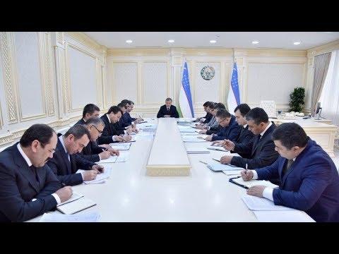2018-yil 21-fevral kuni O'zbekiston Prezidenti Shavkat Mirziyoyev yig'ilish o'tkazdi(O'zbekiston24)