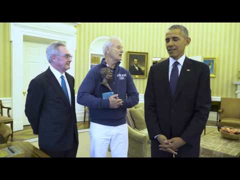Bill Murray and President Obama   The Mark Twain Prize