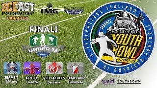 Youth Bowl 2017 FINALE U13 Milano vs Sarzana