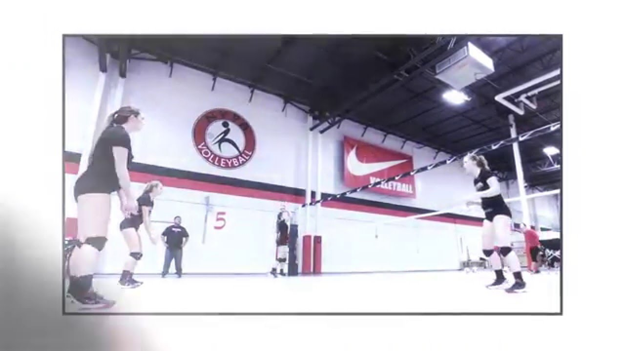 Gold Medal Squared Volleyball Camp - YouTube