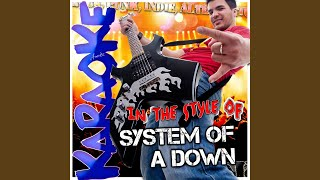 Download Needles (In the Style of System of a Down) (Karaoke Version)