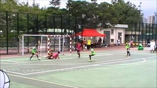 車路士盃小學五人賽(入球撞柱精華) 2015-04-19
