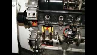 WIE EIN MOTOR FUNKTIONIERT HOW THE AN ENGINE motoru WORKS CAR 4 STROKE  ŠKODA  SCHNITTMOTOR