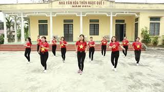 Nhảy 18 Bước Qua Nền Nhạc MODERN TALKING [CLB Hoa Mặt Trời Xã Quỳnh Hoa]