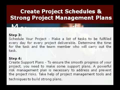 strong project 4 steps to perfect project planning youtube